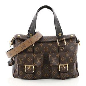 Louis Vuitton Manhattan NM Handbag Monogram